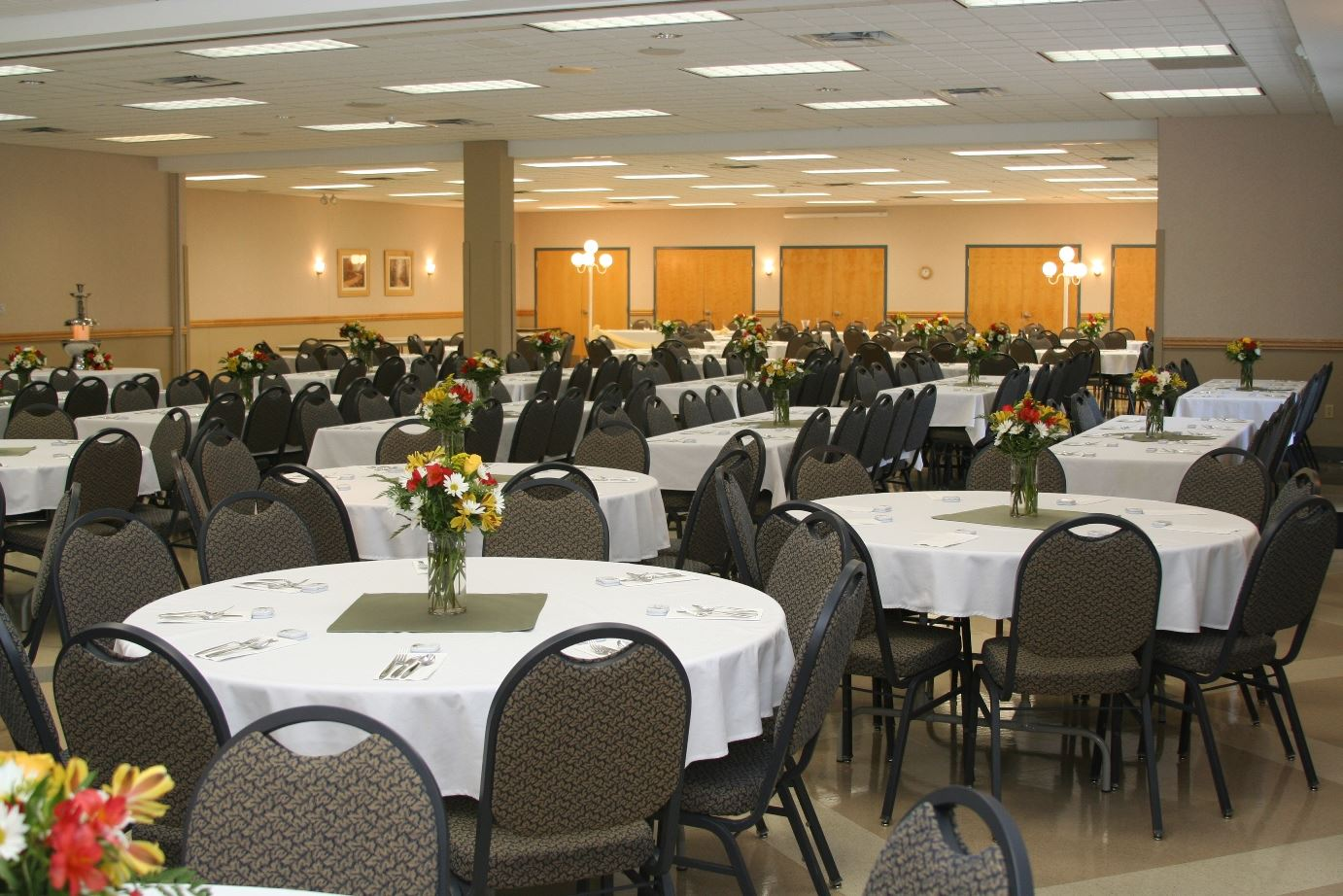 Banquet in a Meeting Room