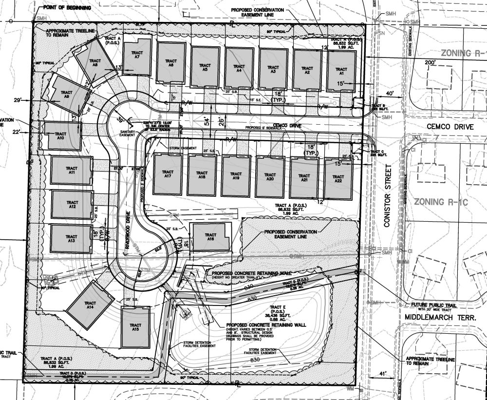 Riverwood Site Plan
