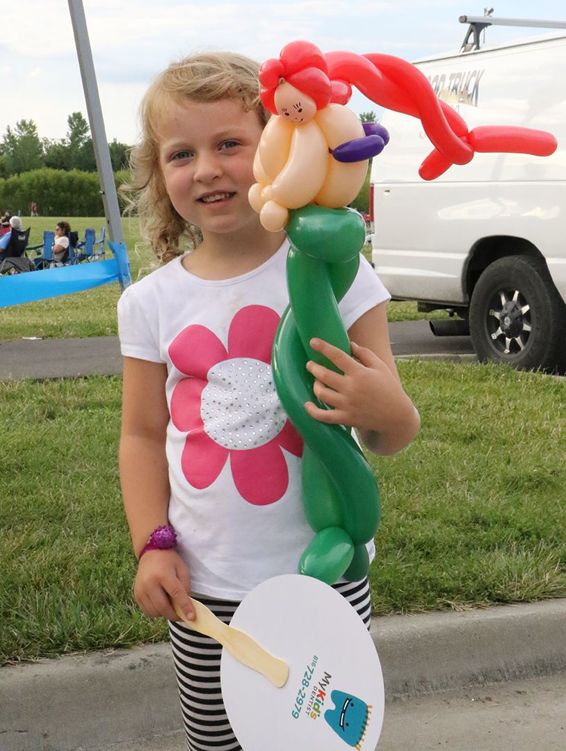 Little Mermaid balloon art