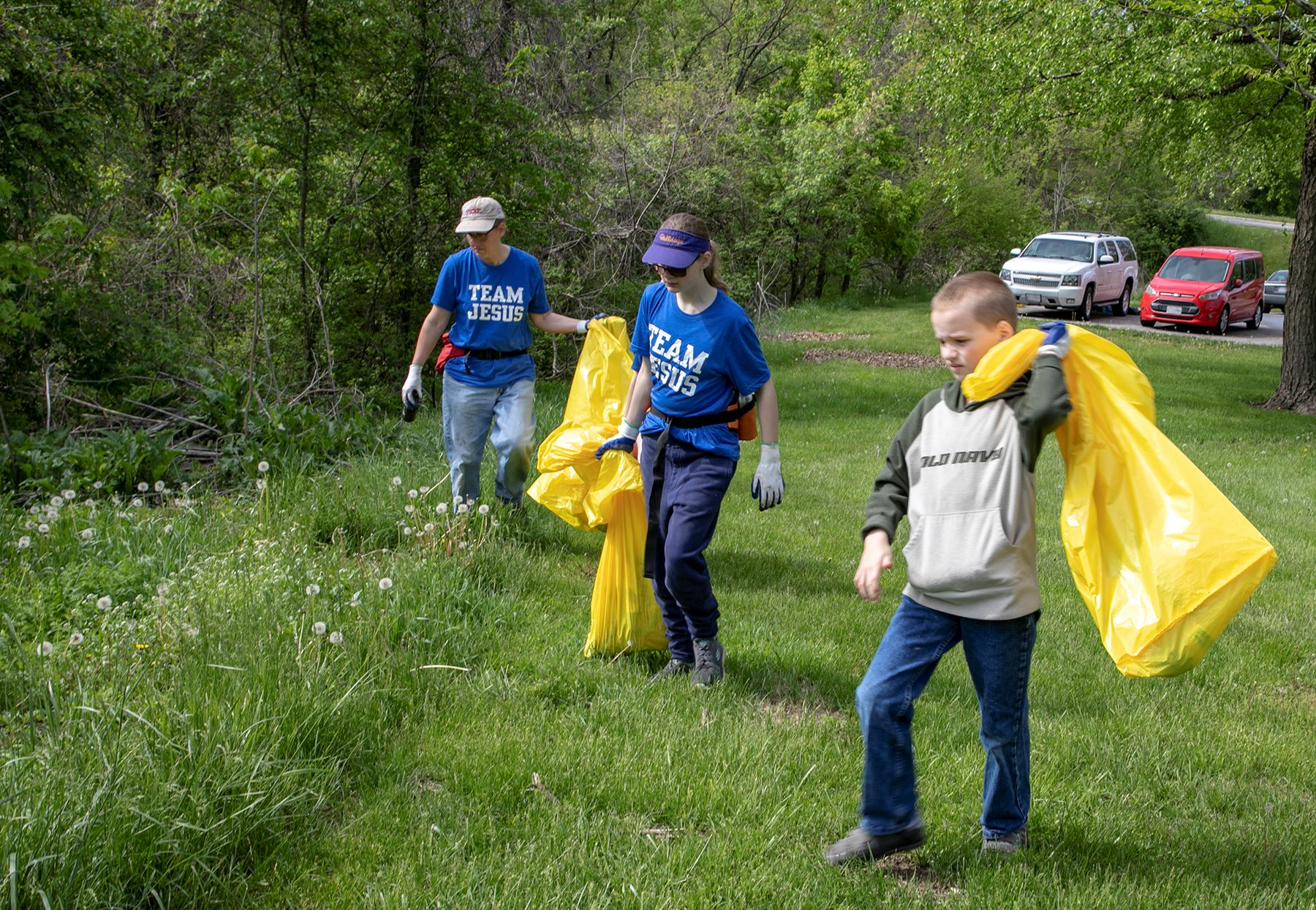 Litter crew at Westboro Canterbury2