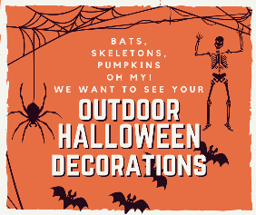 Halloween decorations map