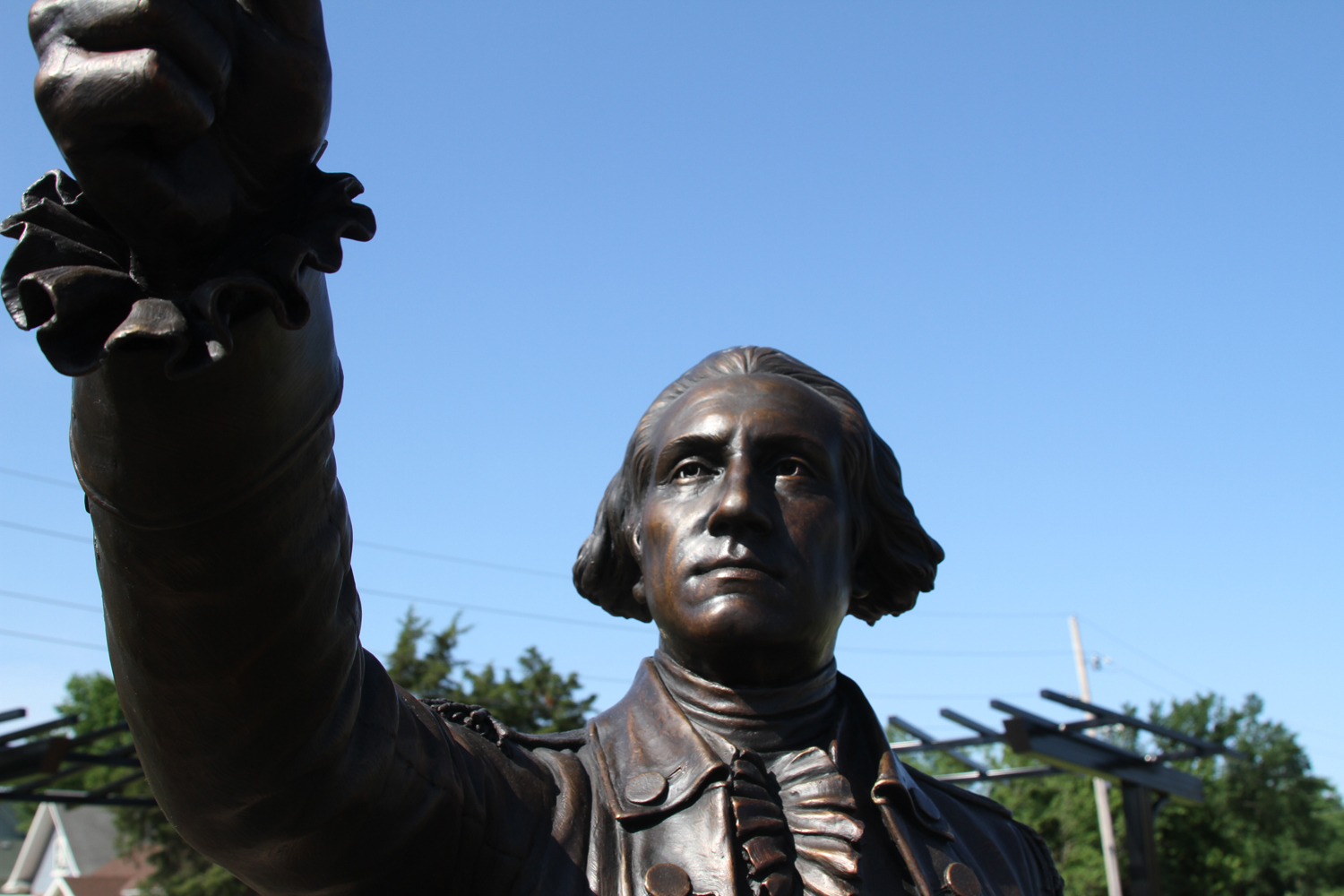 George Washington sculpture horiz20130620c