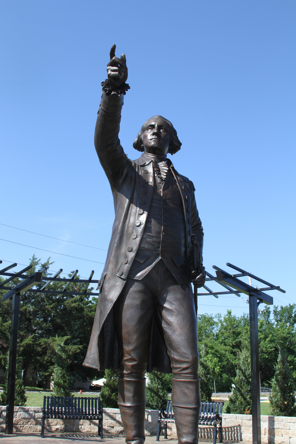 George Washington sculpture201306