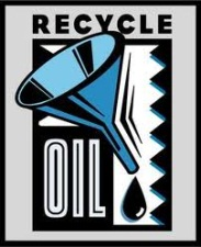 Logo - Recycle Used Oil